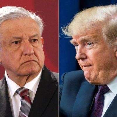 TRUMP TENSA LA LIGA CON MÉXICO: Anuncia EU aranceles de 5% a importaciones a partir del 10 de junio; 'no me falta valor y no soy cobarde', responde AMLO y llama al diálogo