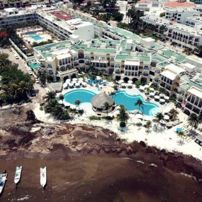 EROSIÓN Y SARGAZO IMPARABLE EN PLAYA: Empresarios temen que, en meses, puedan perder el 10 por ciento de trabajadores a causa de baja ocupación en la zona turística y centro