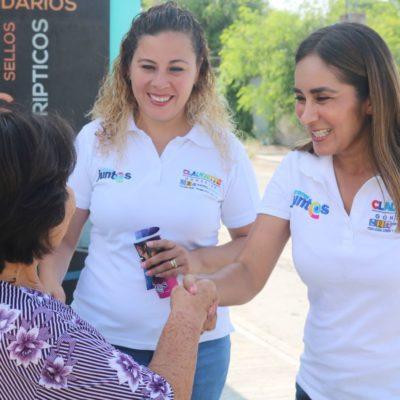Las encuestas son de quién las paga, el mejor pulso es la aceptación de los ciudadanos, advierte Claudette González