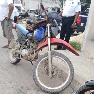 Inician operativos para localizar motocicletas robadas en Chetumal