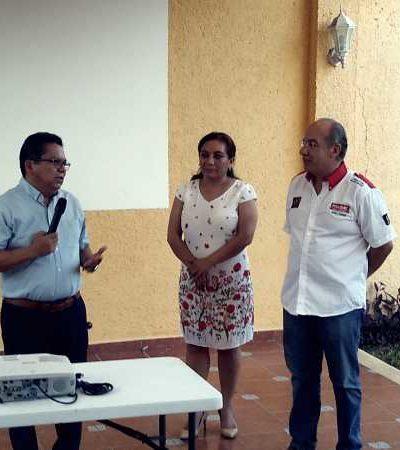 HACE ESCALA CALDERÓN EN CHETUMAL: Aprovecha ex Presidente pausa en el Rally Maya para promocionar nueva agrupación política y dar espaldarazo al Gobernador