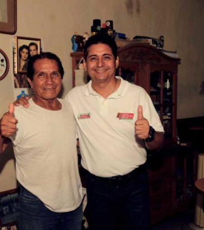 """A una semana de la elección, dice Carlos Hernández Blanco que """"es el momento de tomar el camino seguro, el de la experiencia, el de la certeza, el de los resultados"""""""