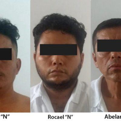 Presentan ante el juez a tres involucrados en caso de secuestro exprés de tres jovencitas deportistas en Cancún