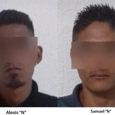 CAEN ATACANTES DE CELADORES: Detienen a dos presuntamente implicados en el asesinato de un custodio y en el intento de ejecución de otro en Cancún