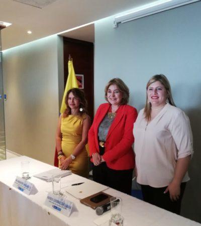 Inauguran consulado de Colombia en Cancún con el objetivo de disminuir los trámites y orientar a visitantes y residentes