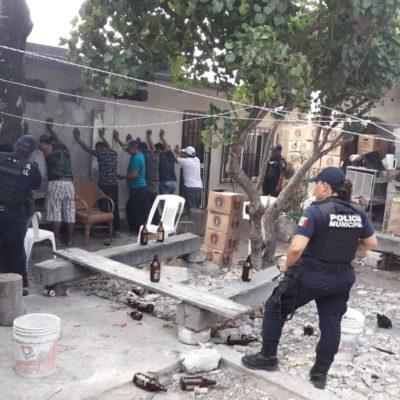 Desmantelan clandestino tras una riña de parroquianos en Puerto Aventuras