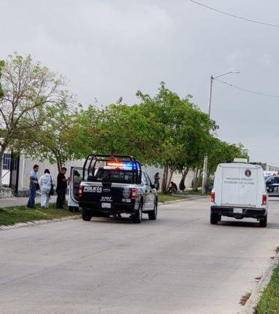 VIDEO   Ejecutan a la salida de su domicilio a custodio de la cárcel de Cancún; hieren a su hijo de 14 años