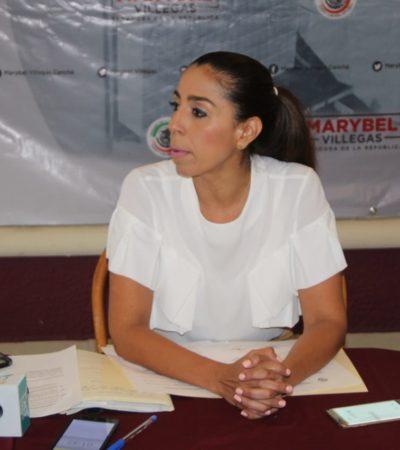 Anuncia Marybel Villegas la creación de un grupo de trabajo para manejar un fideicomiso de 600 mdp para combatir el sargazo
