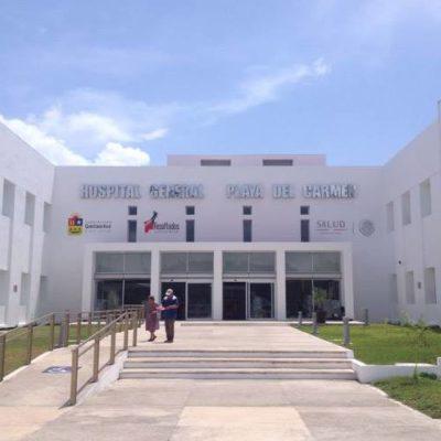 Derechos Humanos verifica el Hospital General de Playa del Carmen, ante queja por falta de aire acondicionado en áreas comunes