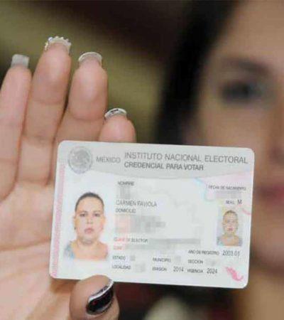 Es el 31 de mayo fecha límite para recoger credencial para votar, informa el INE