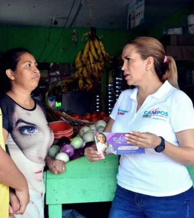 Asegura Lili Campos que trabajará con unidad para recuperar el rumbo y poner orden en Solidaridad