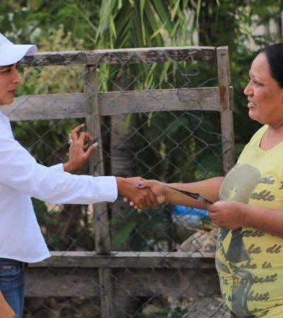 """""""Los candidatos debemos buscar alternativas para mejorar la calidad de vida y defender los derechos de los ciudadanos"""", afirma Claudette González"""