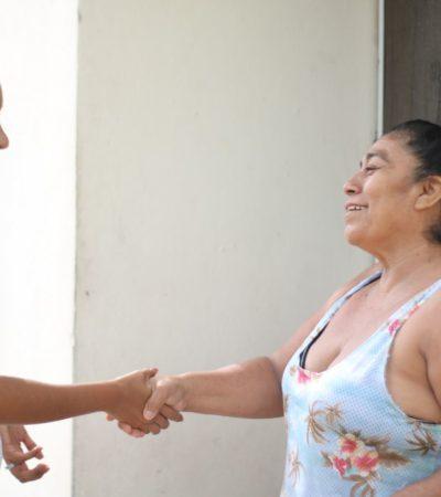 Llama Claudette González a ciudadanos a definir su apoyo para lograr el crecimiento de la zona sur de Quintana Roo