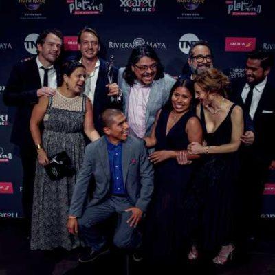 COLMAN ROMA DE PLATINO: La película de Cuarón es la más premiada en la gala del cine en español realizada en la Riviera Maya