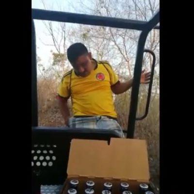 Destituyen al subdirector de Seguridad Pública de José María Morelos por alcoholizarse en una patrulla