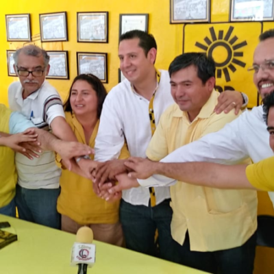 Aseguran integrantes del PRD, que aportarán la parte que les corresponde dentro de la coalición para ganar el próximo 2 de junio