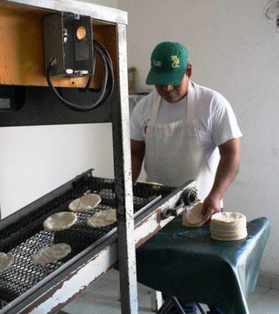 """""""ESTAMOS EN CRISIS"""": Reportan cierre de 10 tortillerías en Playa del Carmen por incremento del precio de combustibles e inseguridad"""