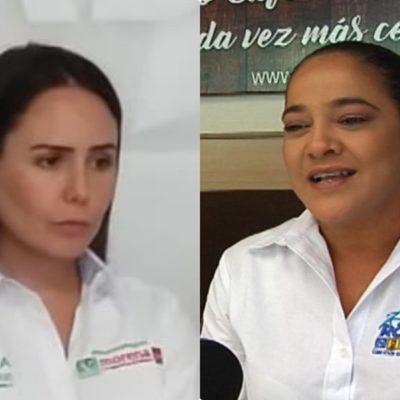 CANDIDATAS, A LA GREÑA: Tyara Schleske y Karla Romero calientan la elección en el Distrito 4 y se anticipan al debate haciéndose señalamientos mutuamente
