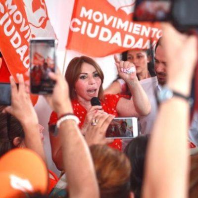 Candidata Gabriela Pallares denuncia agresiones y responsabiliza a su contrincante Carlos Orvañanos, del PAN, de lo que le pudiera pasar