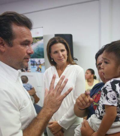 Ayuntamiento de Cozumel y la fundación Smile Train inauguran jornada quirúrgica que atenderá a 17 niños con labio leporino y paladar hendido en Cozumel