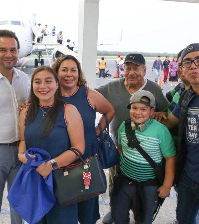 Incrementa turismo nacional en Cozumel en un 80 por ciento: Pedro Joaquín