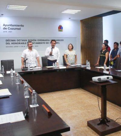 Cabildo de Cozumel aprueba la asignación de cajones de estacionamiento para personas con discapacidad