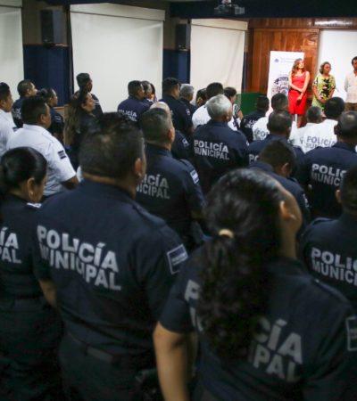 Apuesta Pedro Joaquín por una corporación policiaca capacitada y apegada a la legalidad en Cozumel