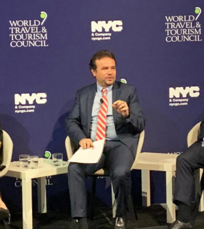 Pedro Joaquín participa en el Foro de Líderes de América del Norte, en Nueva York