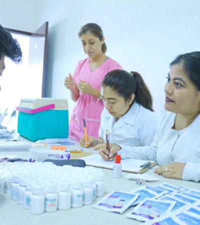 DIF de Cozumel refrenda el compromiso de brindar servicios de salud a grupos vulnerables del municipio