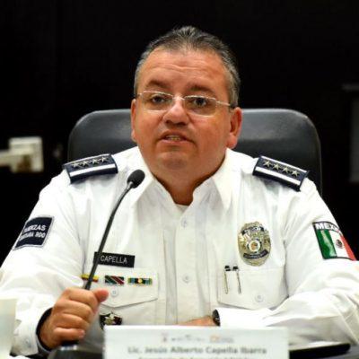 """""""TENEMOS UNA CONTENCIÓN EN EL TEMA DE HOMICIDIOS"""": Asegura Capella que han bajado 50% los asesinatos en Playa del Carmen"""