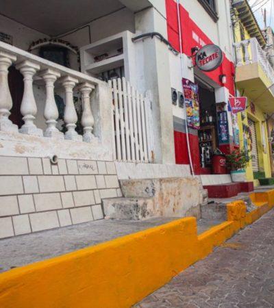 """Mejoran la imagen urbana de Isla Mujeres con el programa """"Isla Verde"""""""