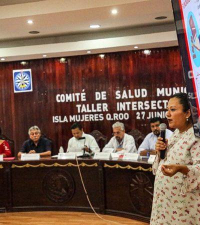 Realizan la primera sesión del Comité de Salud municipal en Isla Mujeres