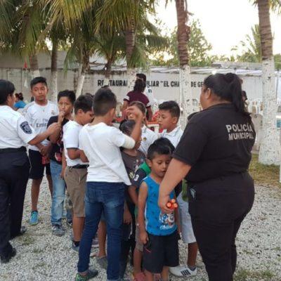 Ayuntamiento de Isla Mujeres fomenta la cultura de prevención del delito en diferentes sectores de la sociedad