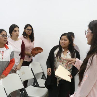 Fomentan inclusión social con curso de señas mexicanas en Isla Mujeres