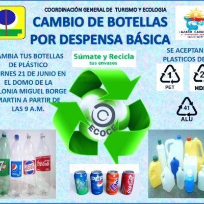 Se inspira Nivardo en 'Beto' Borge y crea su programa 'plásticos por alimentos'