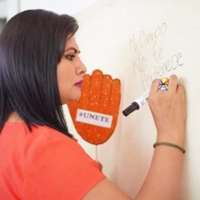 Ante incremento de violencia contra la mujer, es necesario que en OPB se emita alerta de género, asegura Alondra Padilla