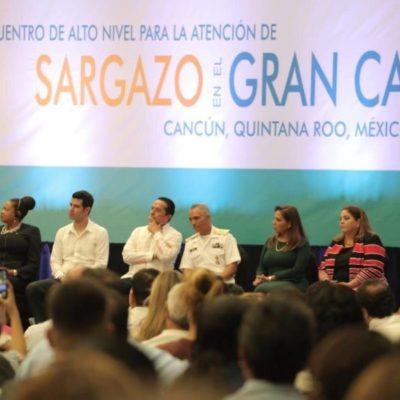 """""""Lo importante no es quién asiste, sino el trabajo en conjunto para tratar el problema del sargazo"""", asegura Carlos Joaquín"""