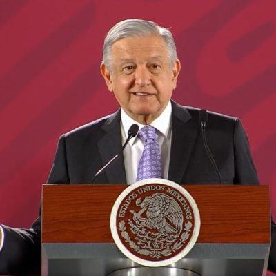 """ATRAE AMLO EL TEMA DE LA CONCESIÓN A AGUAKAN: Dice el Presidente que pidió al Gobernador de QR y a la Alcaldesa de Solidaridad resolver esta """"demanda sentida de la gente"""""""