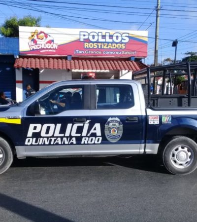 Detienen a dos sujetos que asaltaron e hirieron con arma de fuego a empleados de una pollería en la Región 231