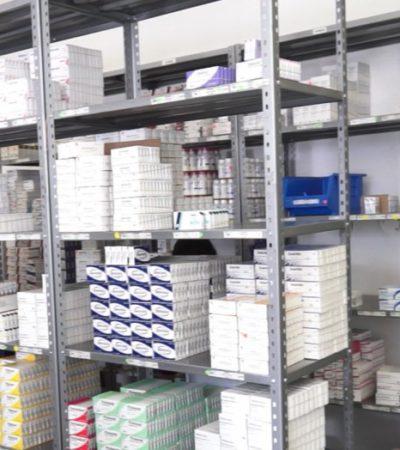 Presume Gobierno Federal ahorro en compras consolidadas en el sector salud