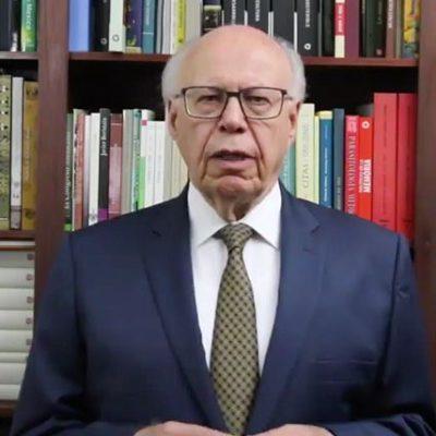 VIDEO: Adios de Narro al PRI; denuncia 'grosera' intervención del gobierno federal en elección interna