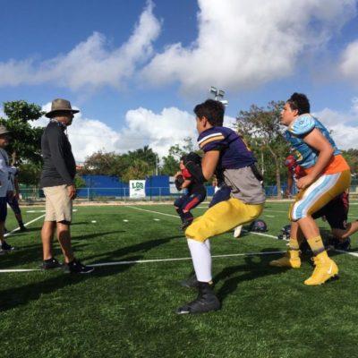 Quintana Roo participará en el Nacional U-17 de futbol americano este lunes
