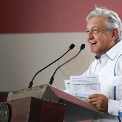 Ofrece AMLO construir planta generadora de electricidad 'en algún punto' de la península de Yucatán para evitar más apagones