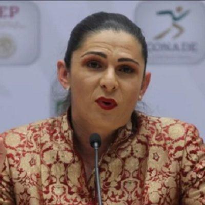 Llama Ana Guevara 'berrinchudos' a deportistas que se quejan por reducción de becas