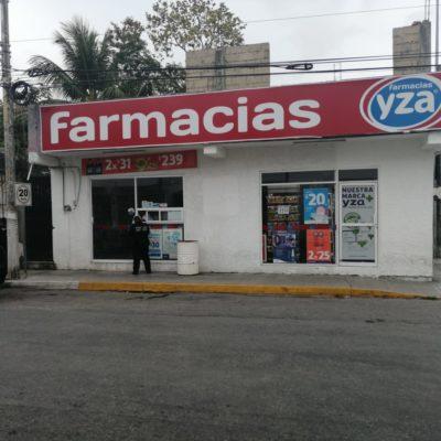 Asaltan farmacia en Playa del Carmen