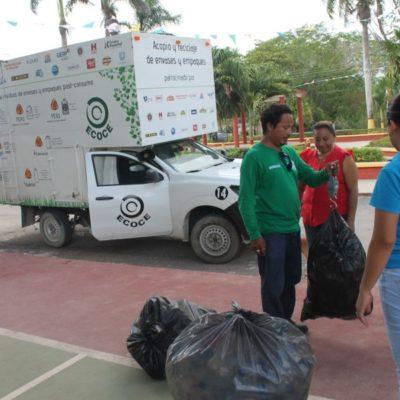 Fracasa el programa de Nivardo de canje de plásticos reciclables por alimentos en Kantunilkín