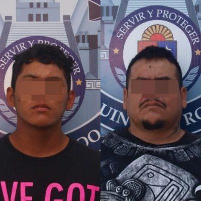 Detienen en Playa a cuatro hombres con un arma y drogas en la colonia Villas del Sol