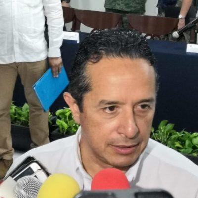 Carlos Joaquín se deslinda de contratación de Grupo Ar.Co en Playa y asegura que el estado sólo trabajará con la Marina para combatir el sargazo