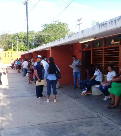 SIN INCIDENTES, PERO SIN 'EMOCIÓN': Frío arranque de la jornada electoral en Quintana Roo