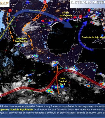 PRONÓSTICO DEL CLIMA: Temperaturas entre 35 y 40 grados para Quintana Roo